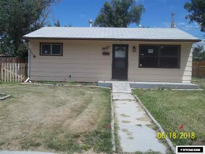 Casper Single Family Home For Sale: 1437 Custer