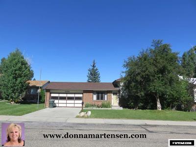 Casper Single Family Home For Sale: 1170 Bretton