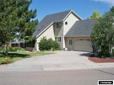 Rock Springs Single Family Home For Sale: 2107 Skyview