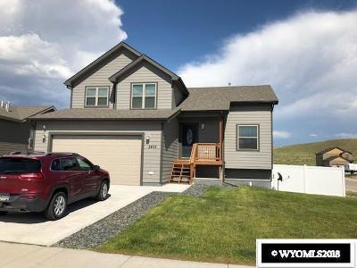 Casper Single Family Home For Sale: 2455 Hope