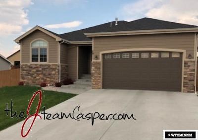 Casper Single Family Home For Sale: 5911 S Oak