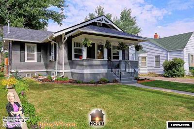 Casper Single Family Home For Sale: 1544 S Cedar