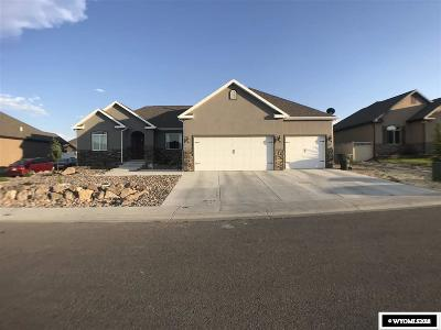 Rock Springs Single Family Home For Sale: 3260 Scott