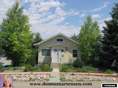 Casper Single Family Home For Sale: 518 E 13th
