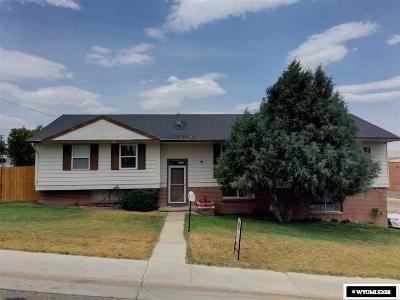 Kemmerer Single Family Home For Sale: 807 Moose