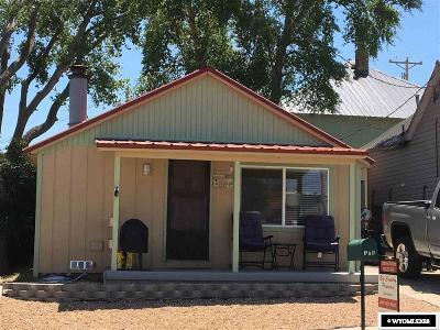 Kemmerer Single Family Home For Sale: 308 Garnet St