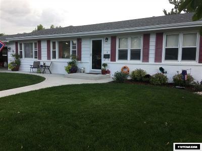 Casper WY Single Family Home For Sale: $245,000
