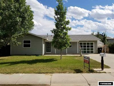 Casper WY Single Family Home New: $160,000