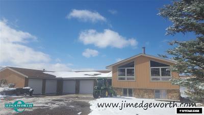 Casper WY Single Family Home New: $368,000