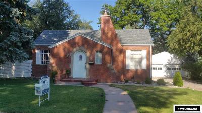 Casper WY Single Family Home For Sale: $199,500