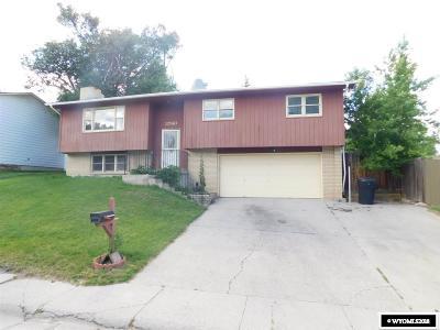 Casper WY Single Family Home New: $225,000