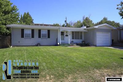 Casper WY Single Family Home New: $155,000