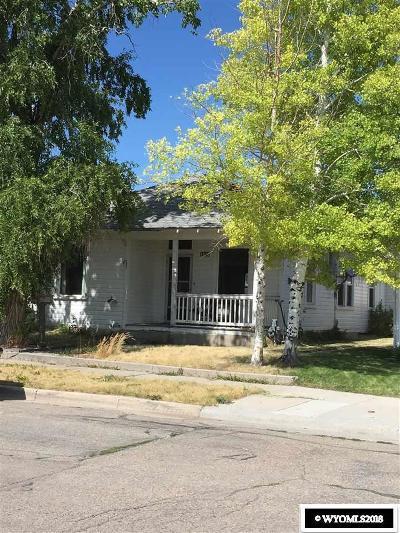 Kemmerer Single Family Home For Sale: 1010 Sage