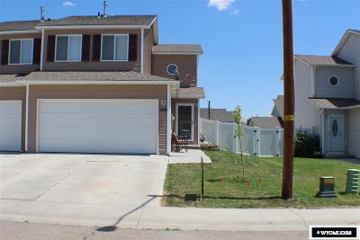 Rock Springs Single Family Home Back On Market: 509 Rampart