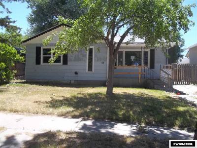 Casper Single Family Home For Sale: 321 E 14th