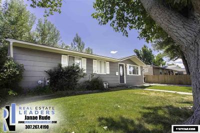 Casper Single Family Home For Sale: 1635 Cody