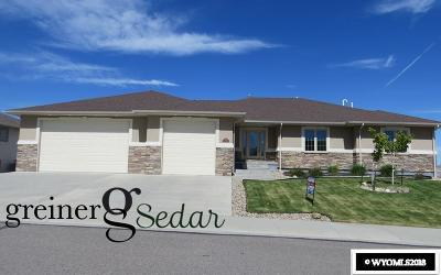 Casper Single Family Home Pending-Continue To Show: 2814 Hogan