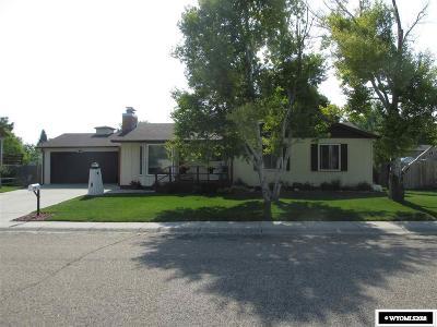 Casper Single Family Home For Sale: 561 Shannon Drive
