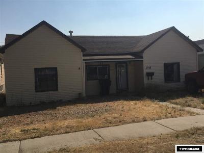 Kemmerer Single Family Home For Sale: 806 Cedar