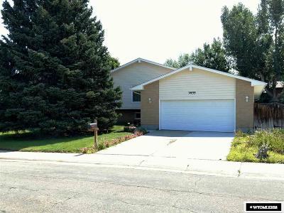 Casper Single Family Home For Sale: 3855 Brookview