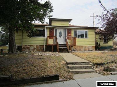 Green River Single Family Home For Sale: 141 N 4th West