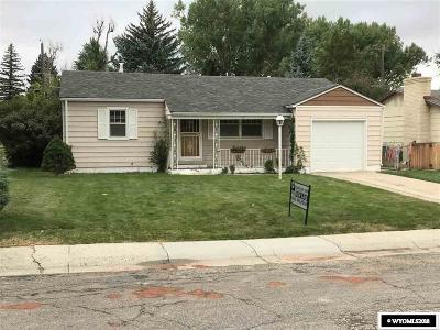 Casper Single Family Home For Sale: 1522 Westridge