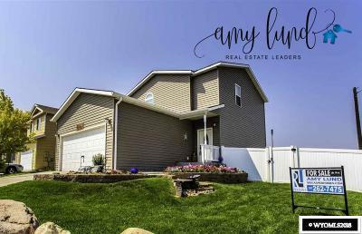 Casper Single Family Home For Sale: 3310 Chaparral