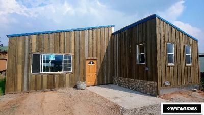 Dubois,  Kinnear,  Crowheart, Pavillion Single Family Home For Sale: 117 Hough