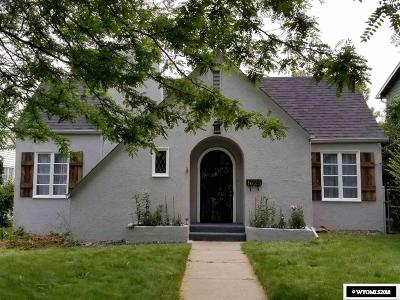 Casper Single Family Home For Sale: 1625 S Chestnut