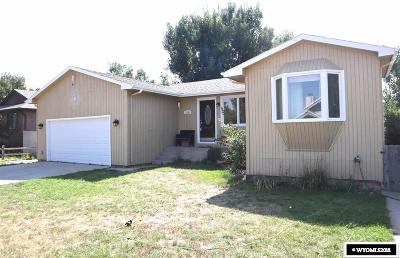 Casper Single Family Home For Sale: 2191 Sunflower