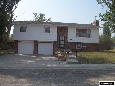 Casper Single Family Home For Sale: 3951 Washakie