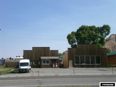 Dubois,  Kinnear,  Crowheart, Pavillion Commercial For Sale: 1420 Warm Springs