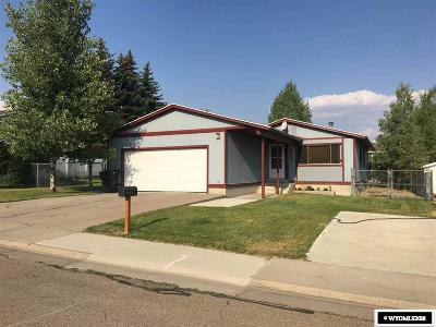 Kemmerer Single Family Home New: 1422 7th West Ave