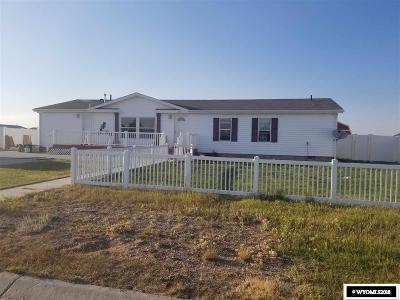 Marbleton Single Family Home For Sale: 605 Kenneth
