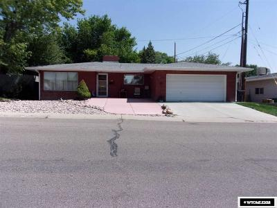 Rock Springs Single Family Home New: 207 Agate