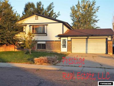 Casper Single Family Home New: 2976 Cotton Creek
