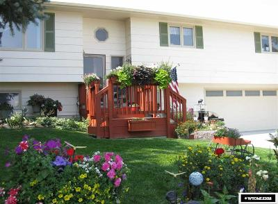 Casper Single Family Home For Sale: 6457 Terrace Drive