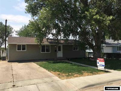 Casper Single Family Home For Sale: 1426 Brigham Young