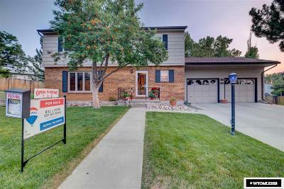Casper Single Family Home For Sale: 125 Sherwood