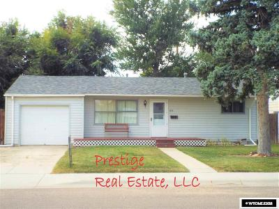 Casper WY Single Family Home For Sale: $149,900