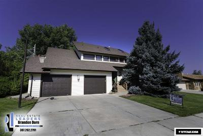 Casper WY Single Family Home New: $375,000