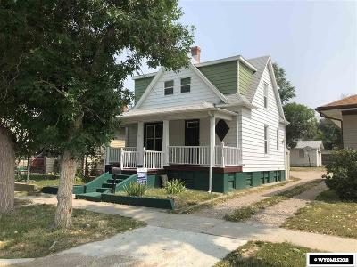 Casper WY Single Family Home For Sale: $168,000