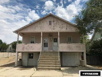 Rock Springs Multi Family Home Temporarily Off Market: 319-321-323 I