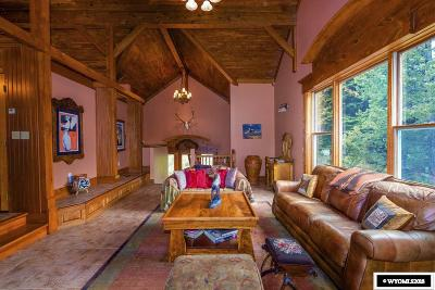 Dubois,  Kinnear,  Crowheart, Pavillion Single Family Home For Sale: 18 Wild Hog