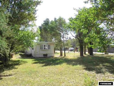 Fremont County Single Family Home For Sale: 301 Horse Creek