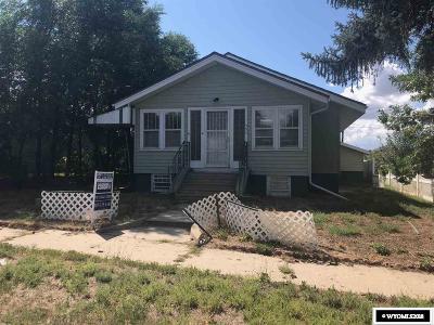 Casper Single Family Home For Sale: 352 N Jackson