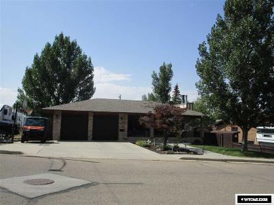 Rock Springs Single Family Home Pending-Continue To Show: 1212 Adams