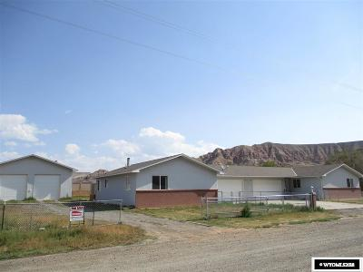 Dubois,  Kinnear,  Crowheart, Pavillion Single Family Home For Sale: 1504/1506 Warm Springs