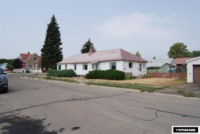 Kemmerer Single Family Home For Sale: 1100 Cedar Ave.