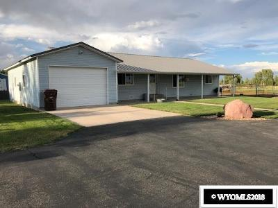 Fort Bridger Single Family Home For Sale: 3580 County Road 219